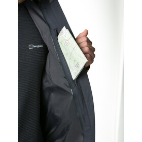 Berghaus Fellmaster InterActive Shell Jacket Herren carbon/rubber